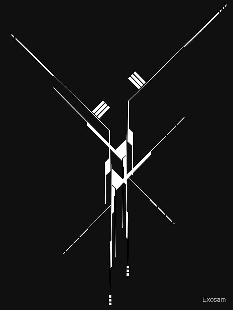 Futuristic Geometric Lines by Exosam