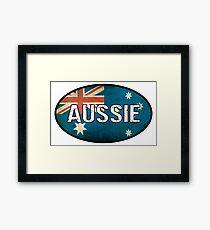 Aussie Framed Print