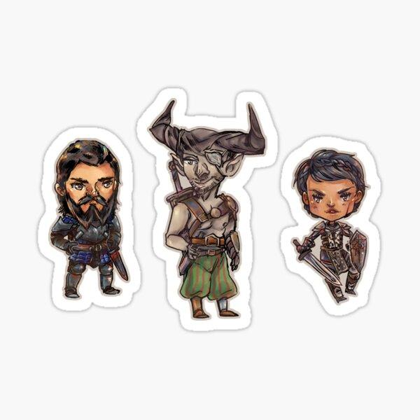 Inquisition Warriors Sticker