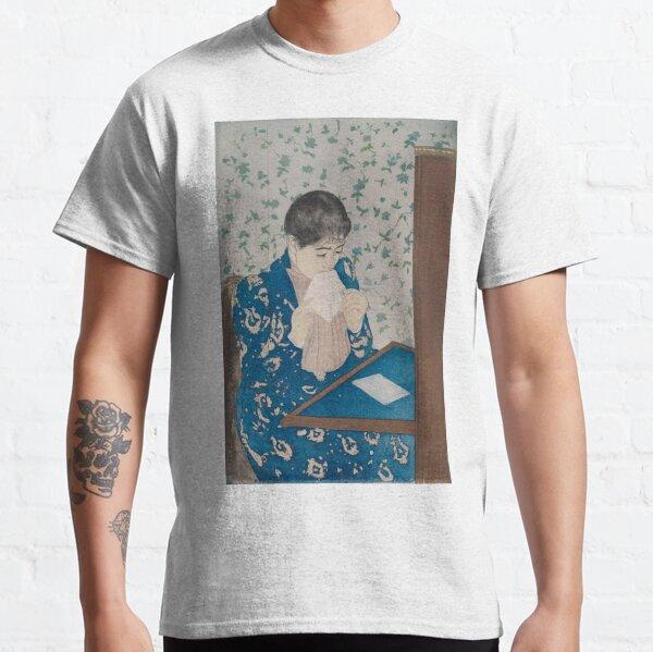 Mary Cassatt. The Letter, 1890-91. Classic T-Shirt