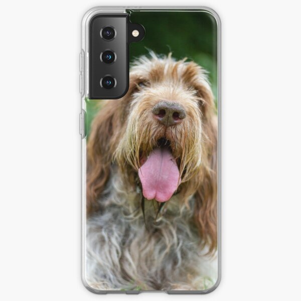 Happy Panting Spinone Samsung Galaxy Soft Case