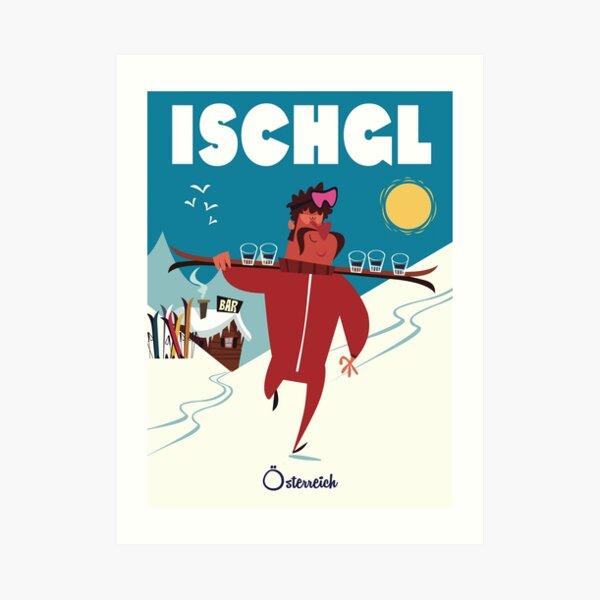 Ischgl poster Art Print