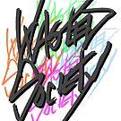 Retro Wasted Society Logo by mkeene2015