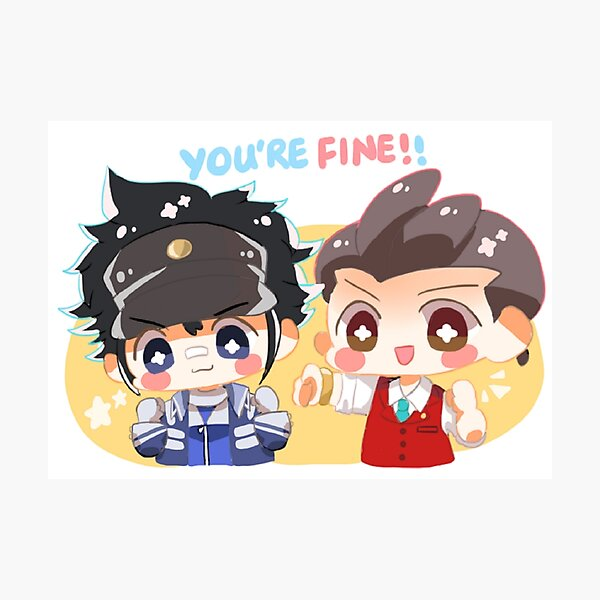 You're fine!! Photographic Print