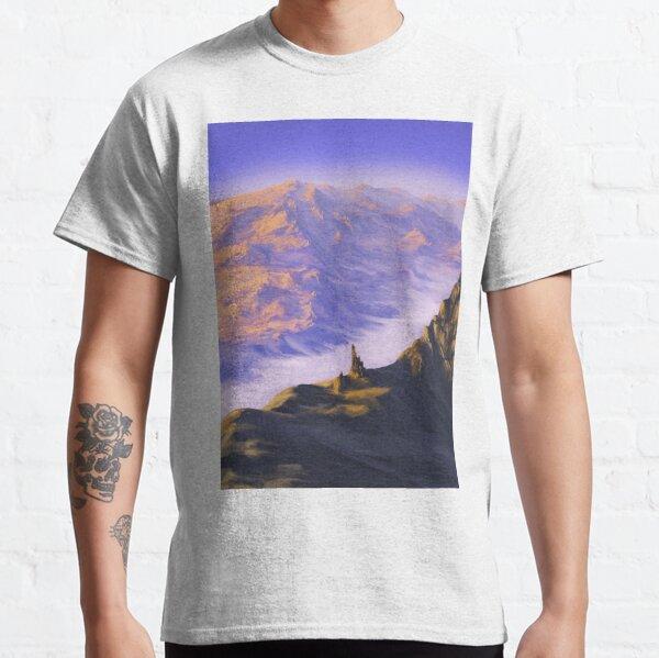 Ruines des montagnes désolées Classic T-Shirt