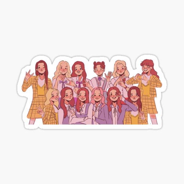 LOONA OT12 Sticker