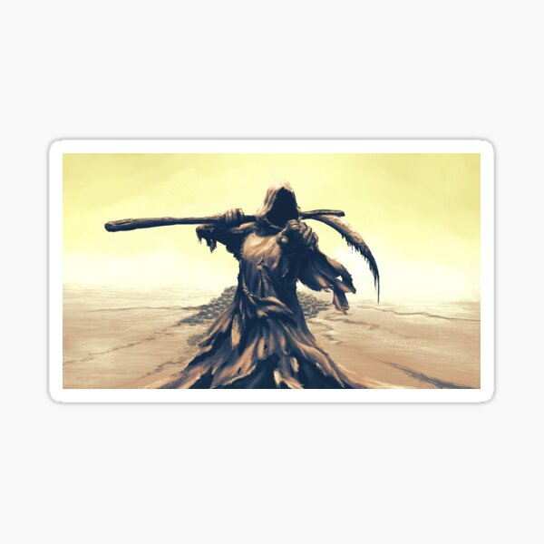 Grim Reaper says it's your turn Sticker