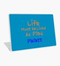 ╚»★Plato's Motivational Quote Clothing & Stickers & Cases & Tote Bags & Home Decor & Stationary★«╝ Laptop Skin