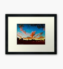 Twilight at Wingham Framed Print