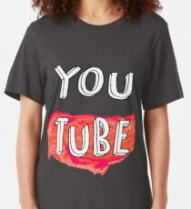 Camiseta ajustada Youtube