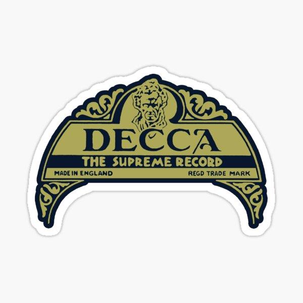 Decca Label 1929 Sticker