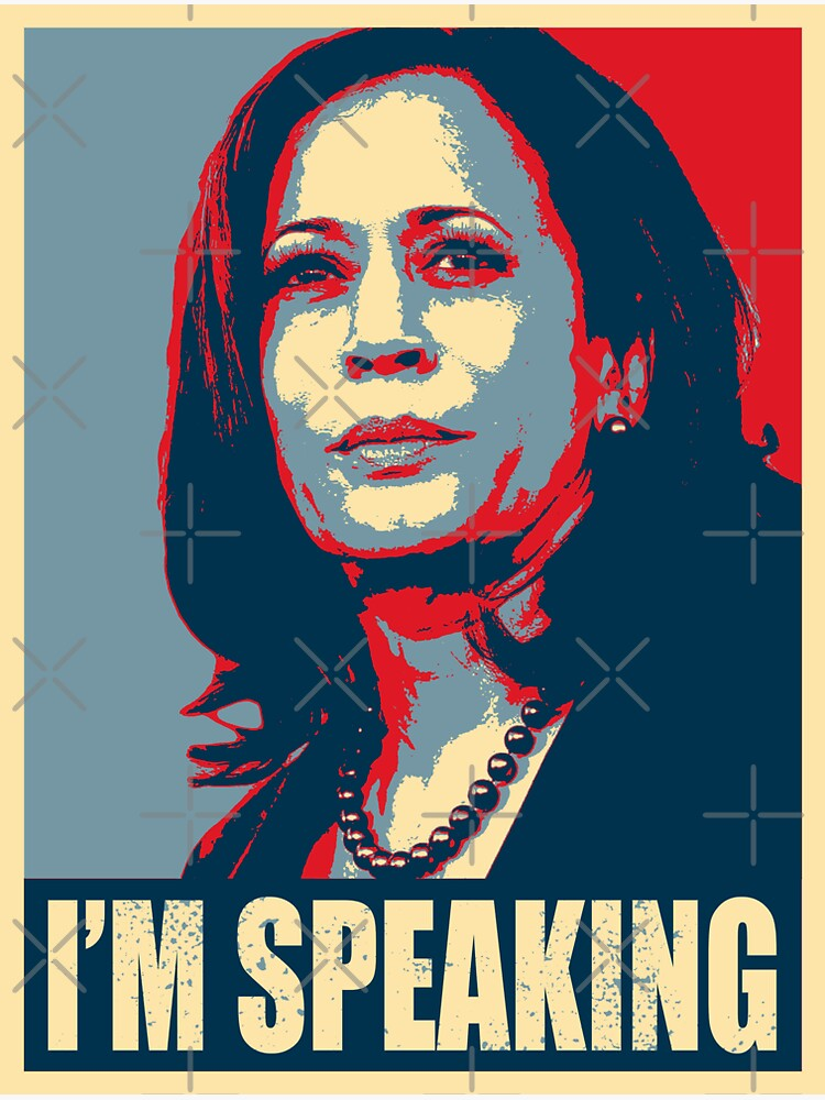 Kamala Harris - Mr. Vice President I'm Speaking - VP Debate 2020 by Bullish-Bear