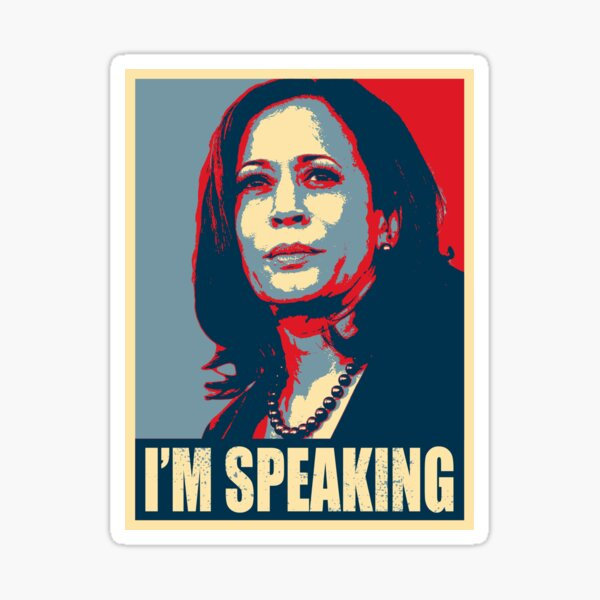 Kamala Harris - Mr. Vice President I'm Speaking - VP Debate 2020 Sticker