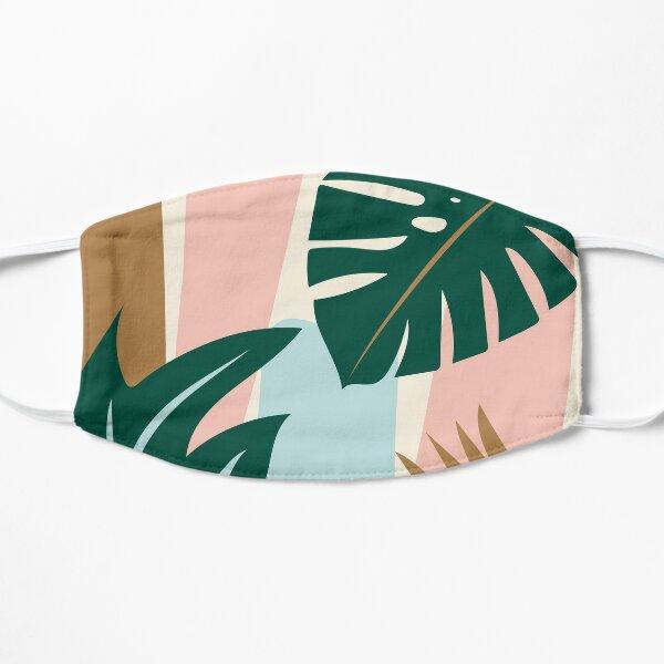 Jungle Palm Flat Mask