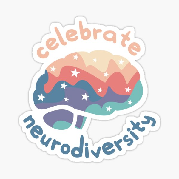 Celebrate Neurodiversity Sticker