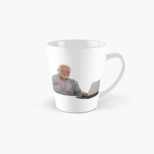 Hold the Pain Meme Mug long