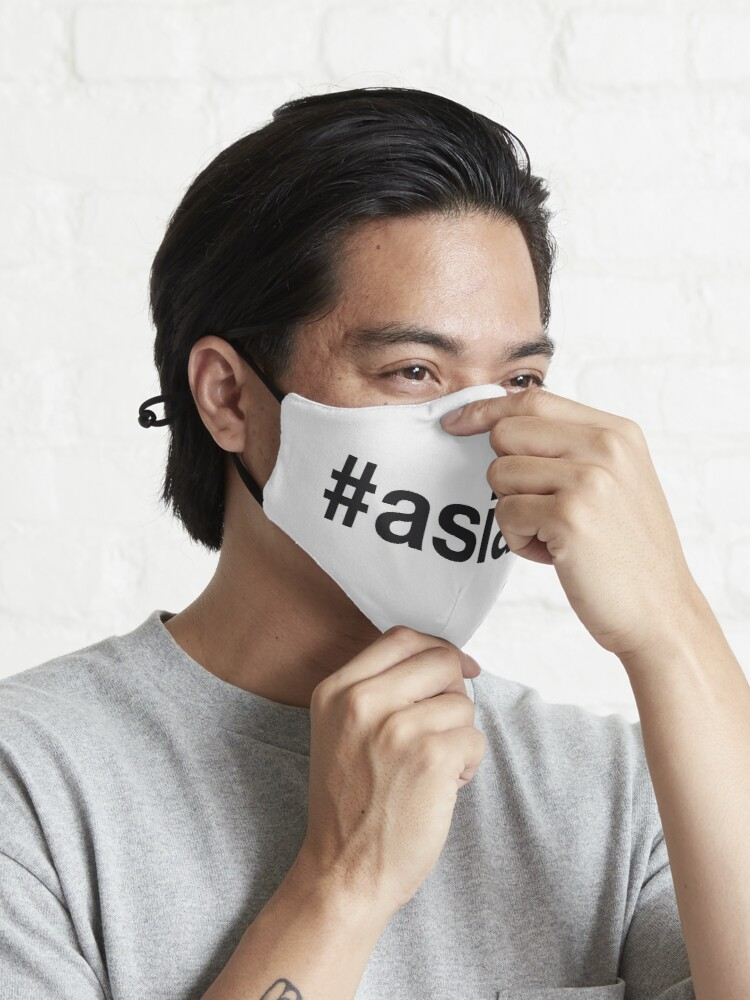 Alternate view of ASIAN Hashtag Mask