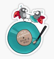 Rock'n'roll ladybirds Sticker