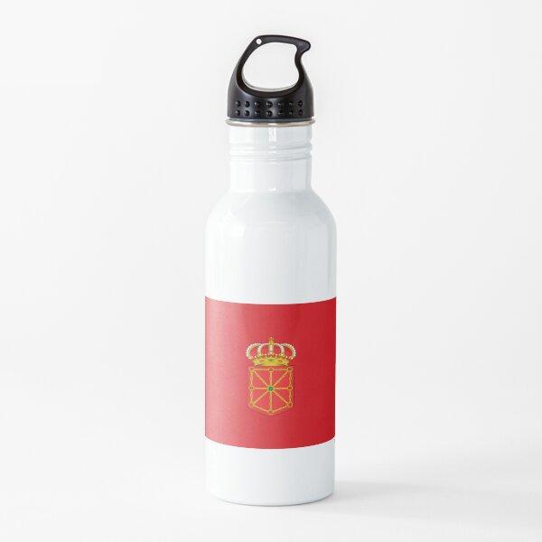 Bandera de Navarra Botella de agua