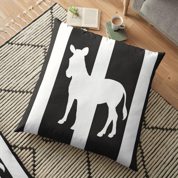 Zebra Crosssing Floor Pillow