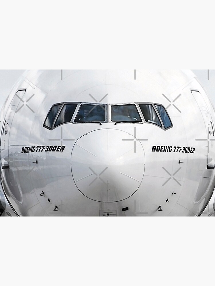 Boeing 777 Nose View by zopenhawer