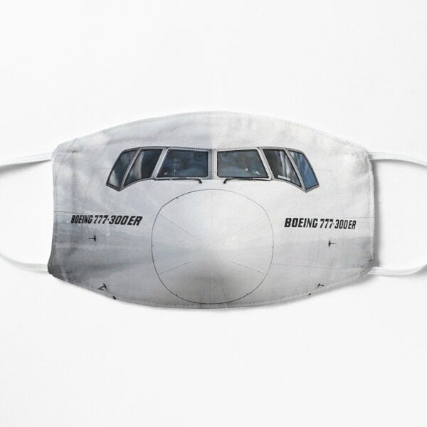 Boeing 777 Nose View Mask