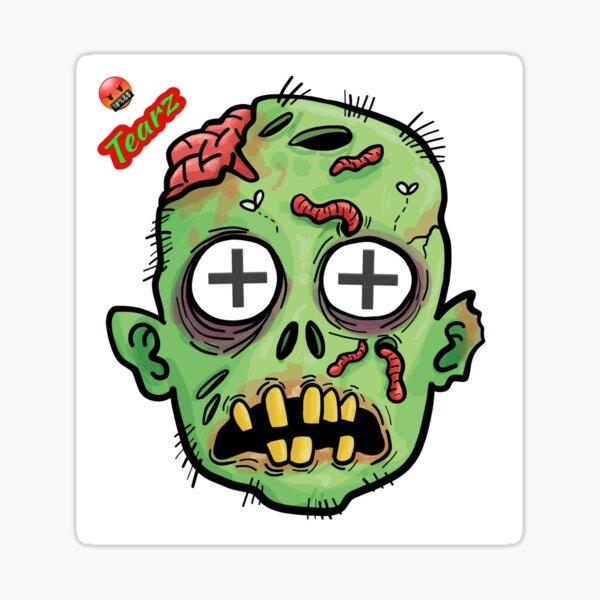 Zombie Tearz Sticker