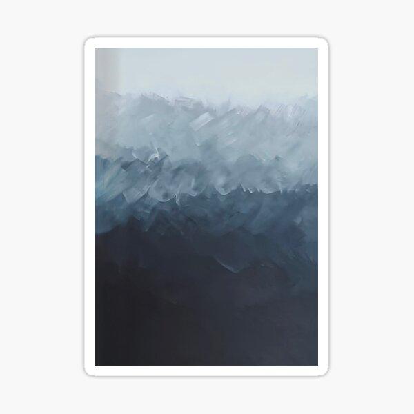 Pintura de Min Yoongi (SUGA) | BTS en el soop (2020) Pegatina