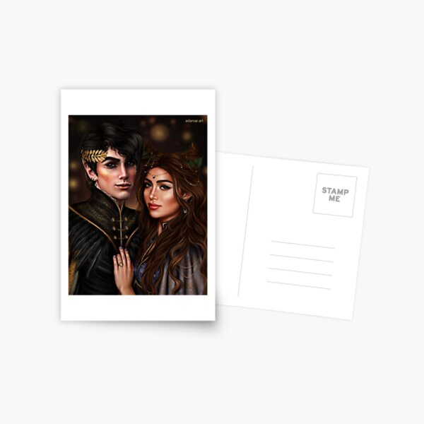 Jude and Cardan (Jurdan) Postcard