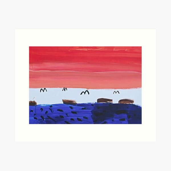 Seokjin's (JIN) Painting   BTS In The Soop (2020) Art Print