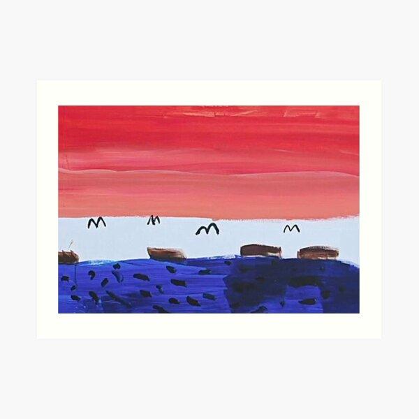 Seokjins (JIN) Gemälde | BTS In The Soop (2020) Kunstdruck