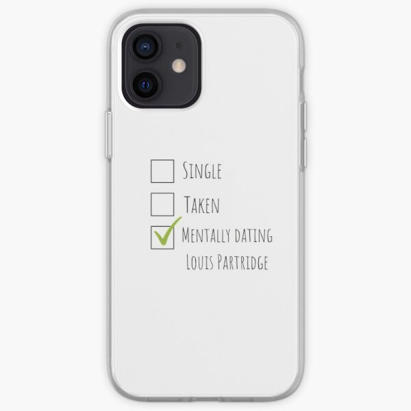 Mentally dating Louis Partridge iPhone Soft Case