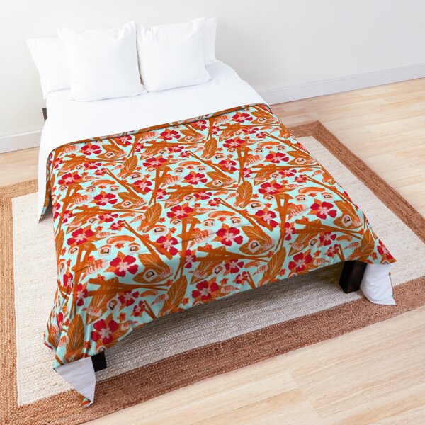 Tropical Sushi Comforter