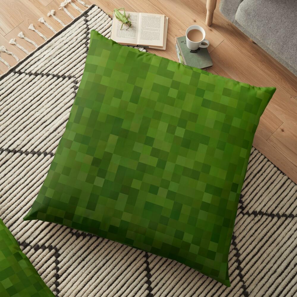 Minecraft Mosaic Floor Pillow