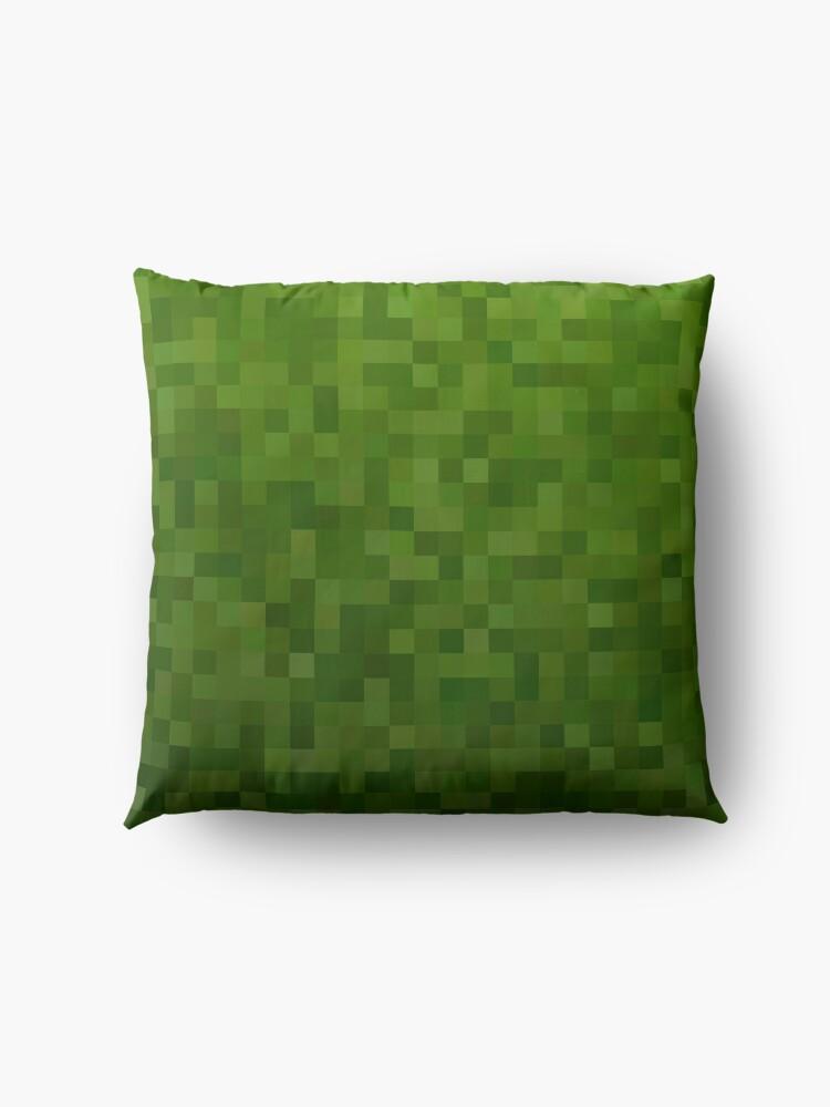 Alternate view of Minecraft Mosaic Floor Pillow