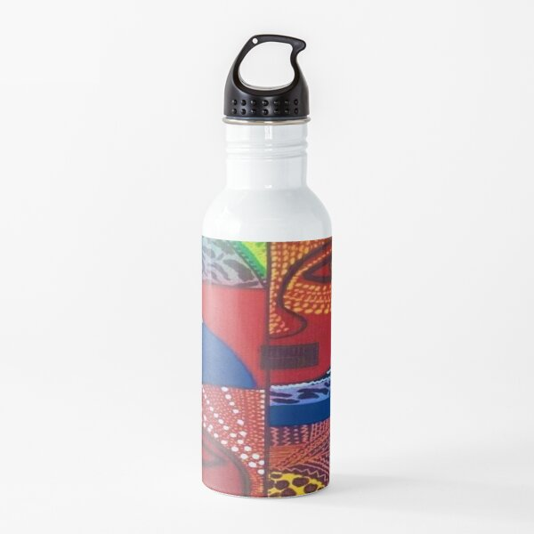 African Patterned Water Bottle