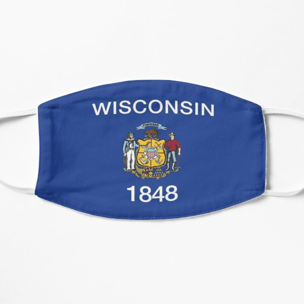 Wisconsin State Flag Mask