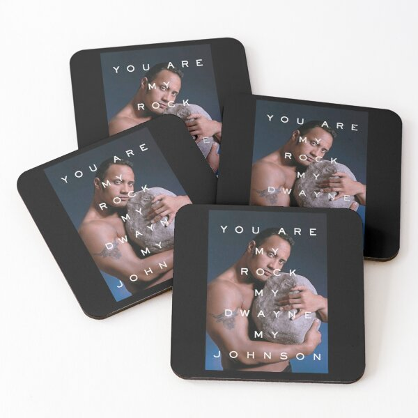 You Are My Rock Coasters (Set of 4)