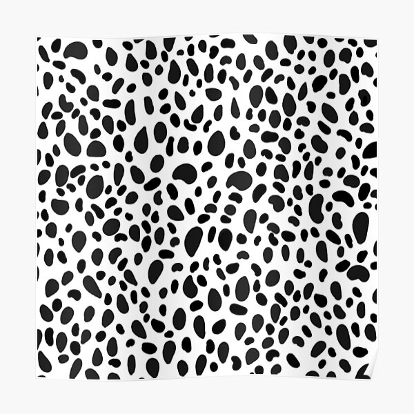 dalmation print product Poster