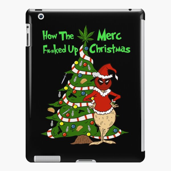 The Merc Christmas  iPad Snap Case
