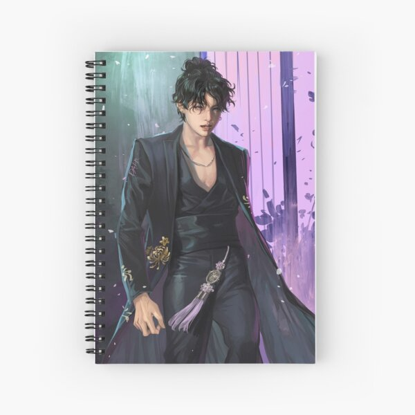 JUNGKOOK- IDOL2020 Cuaderno de espiral