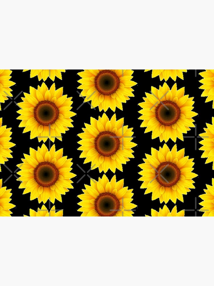 Autism sunflower print ,autism sunflower mask ,sunflower face mask by solveigok