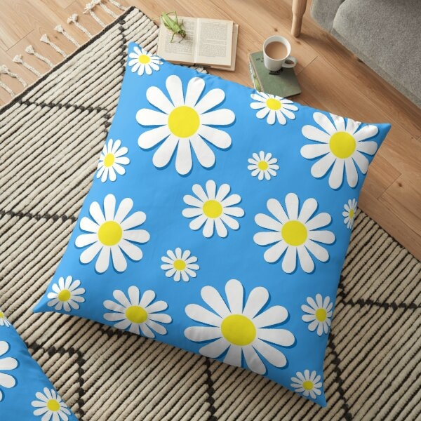 Funky Chamomile Floor Pillow