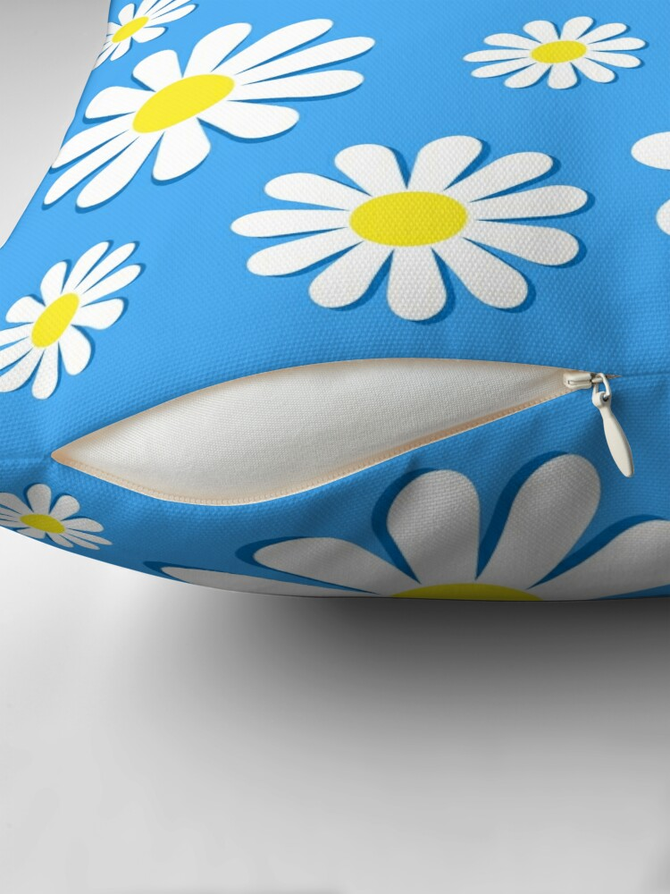 Alternate view of Funky Chamomile Floor Pillow