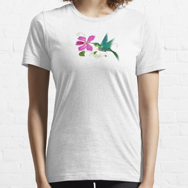 Hummingbird w/Dad Essential T-Shirt