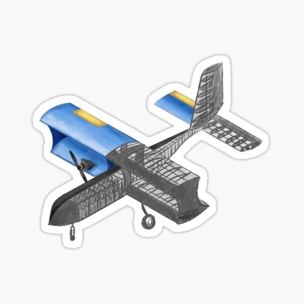 Miner Aviation Atlas Sketch to Reality Sticker
