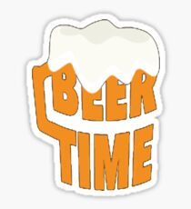 Beer Time Sticker