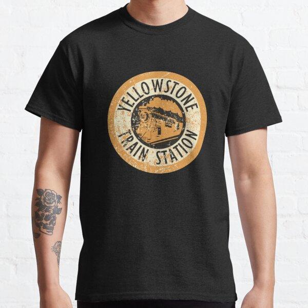 Yellowstone Train Station Yellowstone National Classic T-Shirt