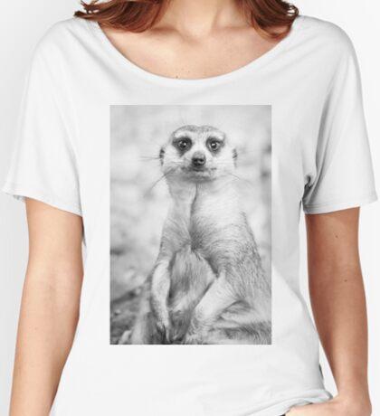 Meerkat portrait Women's Relaxed Fit T-Shirt