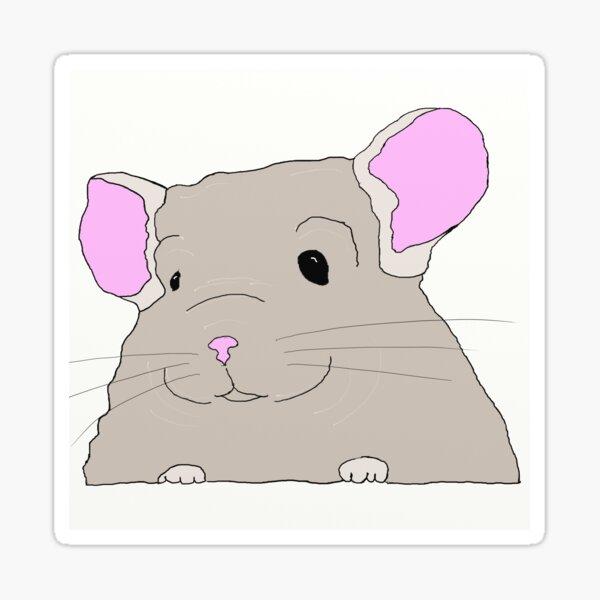 Cute Chinchilla Sticker